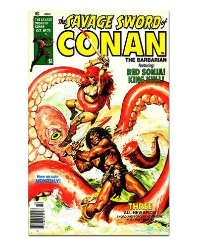 Ímã Decorativo Capa de Quadrinhos Conan - CQO08