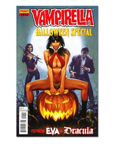 Ímã Decorativo Capa de Quadrinhos Vampirella - CQO19
