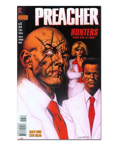 Ímã Decorativo Capa de Quadrinhos Preacher - CQO35