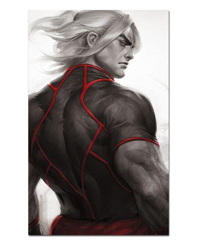 Ímã Decorativo Ken Masters - Street Fighter - ISF06