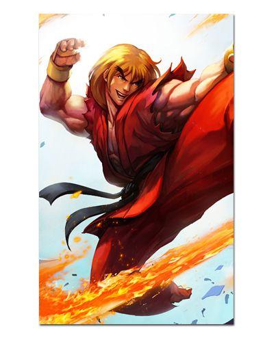 Ímã Decorativo Ken Masters - Street Fighter - ISF07