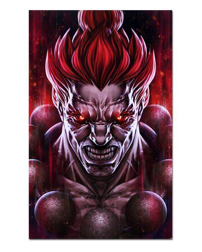 Ímã Decorativo Akuma - Street Fighter - ISF22