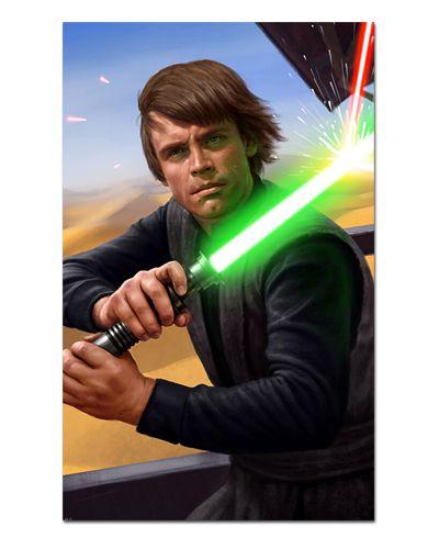 Ímã Decorativo Luke Skywalker - Star Wars - ISW74