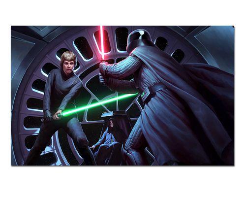 Ímã Decorativo Darth Vader vs Luke - Star Wars - ISW19