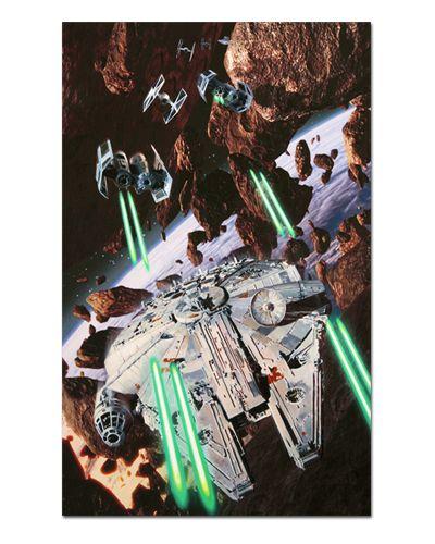 Ímã Decorativo Millennium Falcon - Star Wars - ISW32