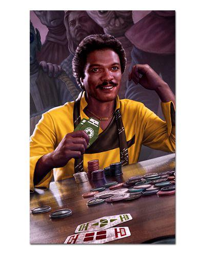 Ímã Decorativo Lando Calrissian - Star Wars - ISW36