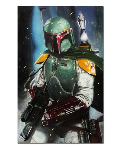 Ímã Decorativo Boba Fett - Star Wars - ISW38