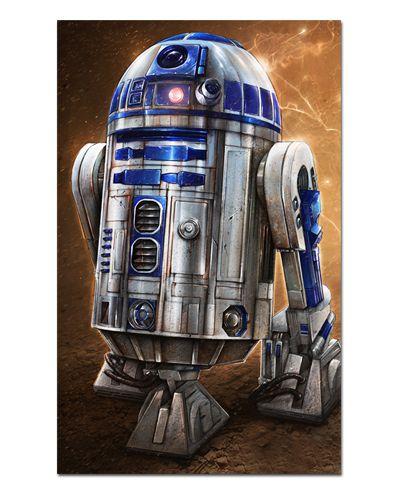 Ímã Decorativo R2-D2 - Star Wars - ISW42