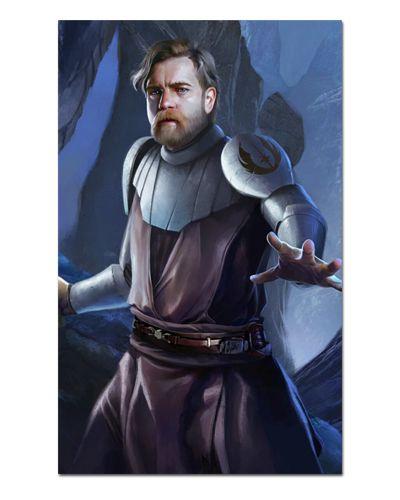Ímã Decorativo Obi-Wan Kenobi - Star Wars - ISW52