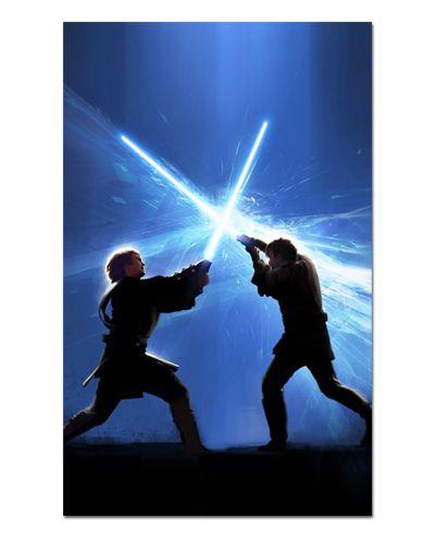 Ímã Decorativo Obi-Wan vs Anakin - Star Wars - ISW51