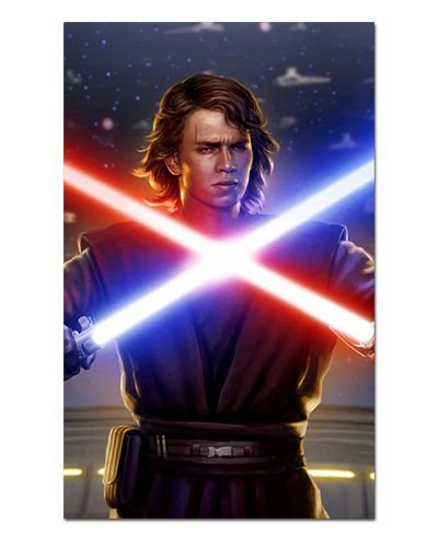 Ímã Decorativo Anakin Skywalker - Star Wars - ISW54