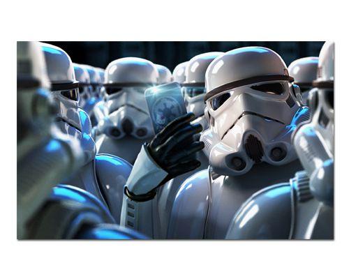 Ímã Decorativo Stormtrooper - Star Wars - ISW67