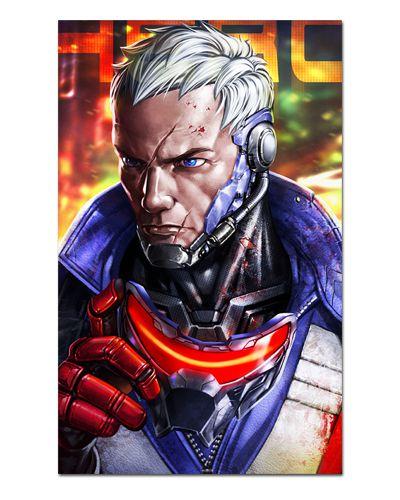 Ímã Decorativo Soldado 76 - Overwatch - IOW14