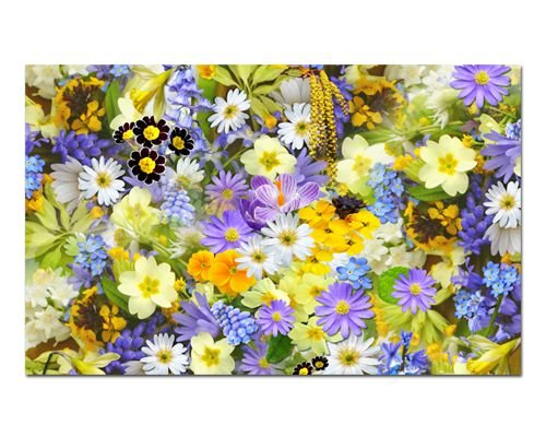Ímã Decorativo Flores de Verão - Garden - IFL03