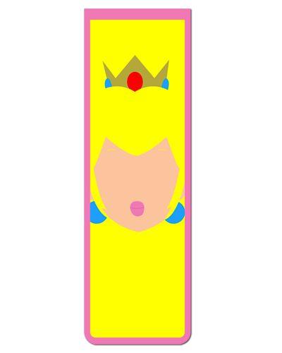 Marcador De Página Magnético Princesa Peach - Super Mario - MGA15