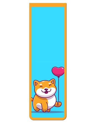 Marcador De Página Magnético Akita Inu - Pet Dog - MDOG01