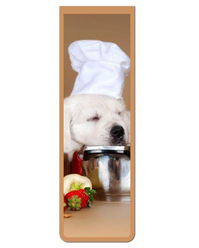 Marcador De Página Magnético Golden Retriever - Pet Dog - MDOG07