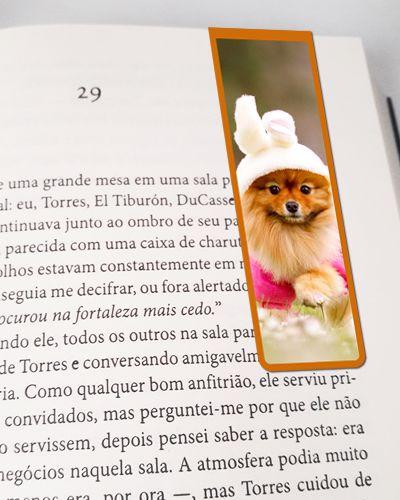Marcador De Página Magnético Lulu da Pomerânia - Pet Dog - MDOG04