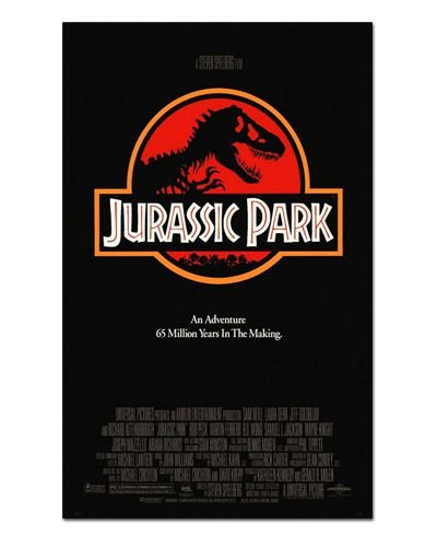 Ímã Decorativo Pôster Jurassic Park - IPF474