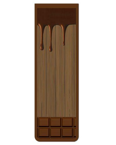 Marcador De Página Magnético Chocolate - Cute - MFE04