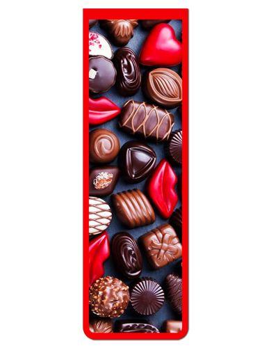 Marcador De Página Magnético Chocolate - Cute - MFE09