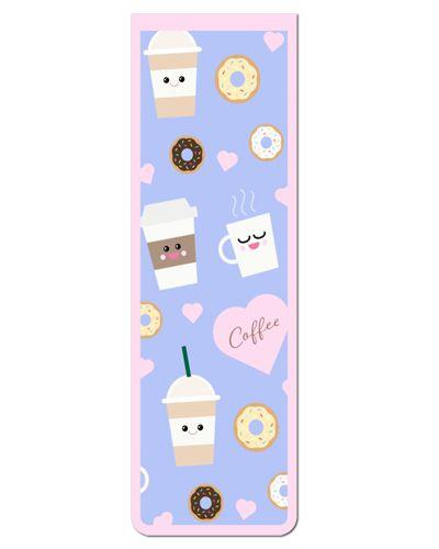 Marcador De Página Magnético Coffee - Cute - MFE13