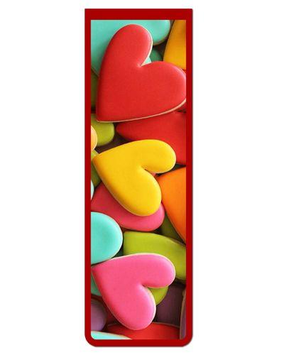 Marcador De Página Magnético Coração - Cute - MFE22