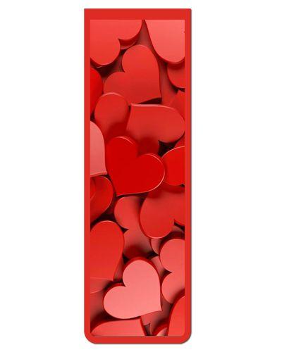 Marcador De Página Magnético Coração - Cute - MFE25
