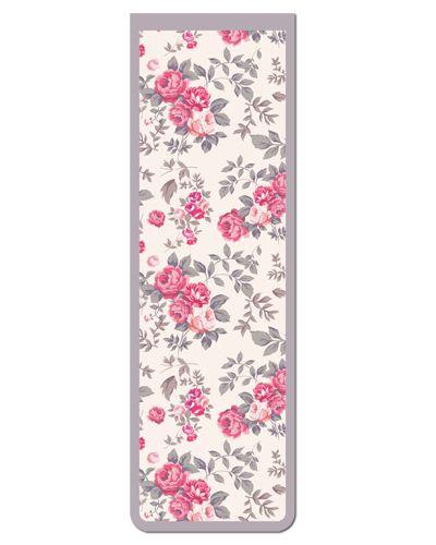 Marcador De Página Magnético Flores - Cute - MFE72