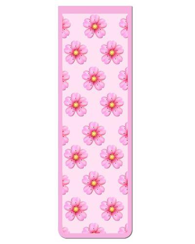Marcador De Página Magnético Flores - Cute - MFE77