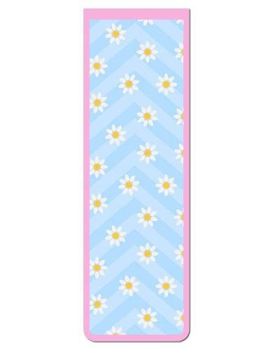 Marcador De Página Magnético Flores - Cute - MFE78