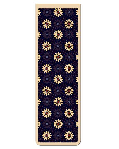 Marcador De Página Magnético Flores - Cute - MFE80