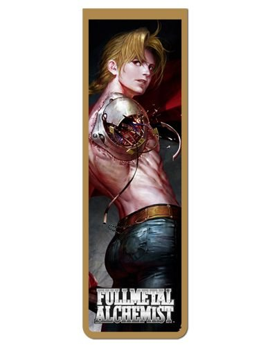 Marcador De Página Magnético Edward - Fullmetal Alchemist - MAN793