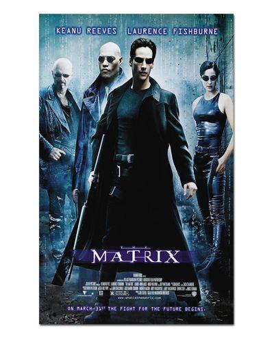 Ímã Decorativo Pôster Matrix - IPF199