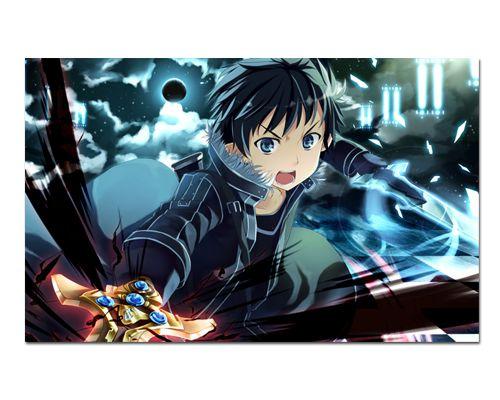 Ímã Decorativo Kirito - Sword Art Online - ISAO02
