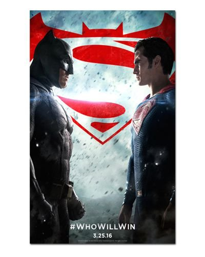 Ímã Decorativo Pôster Batman vs Superman - IPF155