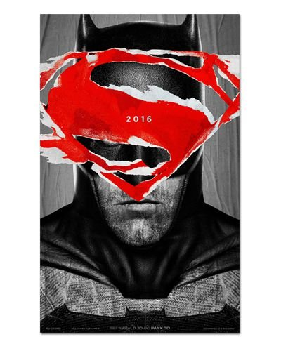 Ímã Decorativo Pôster Batman vs Superman - IPF149