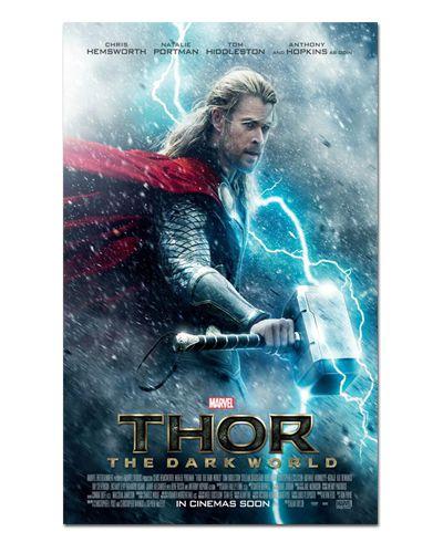 Ímã Decorativo Pôster Thor O Mundo Sombrio - IPF190
