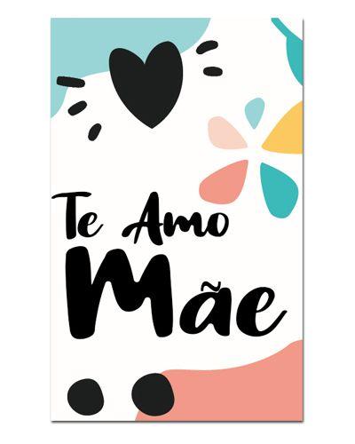Ímã Decorativo Te Amo Mãe - Cute - IDF17
