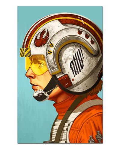 Ímã Decorativo Luke Skywalker - Star Wars - ISW76