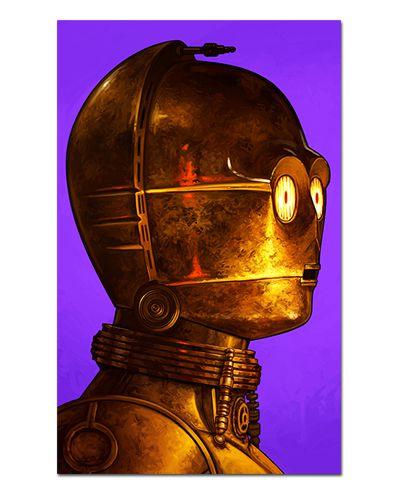 Ímã Decorativo C-3PO - Star Wars - ISW82