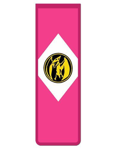 Marcador De Página Magnético Ranger Rosa - Power Rangers - MAT04