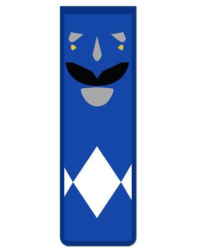 Marcador De Página Magnético Ranger Azul - Power Rangers - MAT13