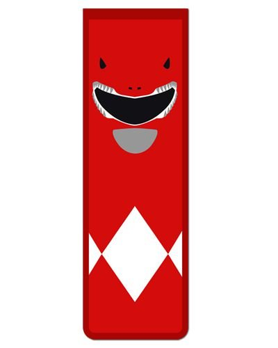 Marcador De Página Magnético Ranger Vermelho - Power Rangers - MAT14