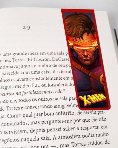 Marcador De Página Magnético Ciclope - X-Men - MMA147
