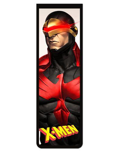 Marcador De Página Magnético Ciclope - X-Men - MMA149