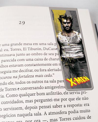 Marcador De Página Magnético Wolverine - X-Men - MMA216