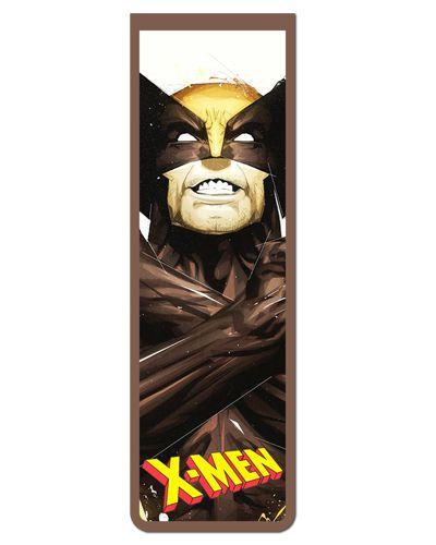 Marcador De Página Magnético Wolverine - X-Men - MMA222
