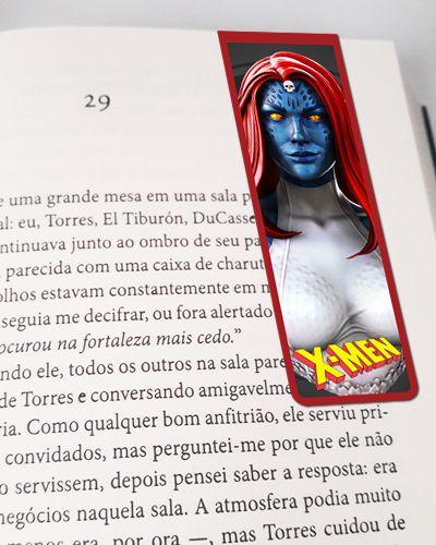 Marcador De Página Magnético Mística - X-Men - MMA228