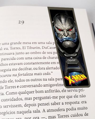 Marcador De Página Magnético Apocalipse - X-Men - MMA234